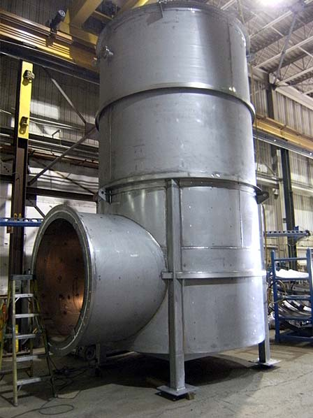 Fabrication of Silencer Elbows for Natural Gas Projects in Venezuela and Dubai