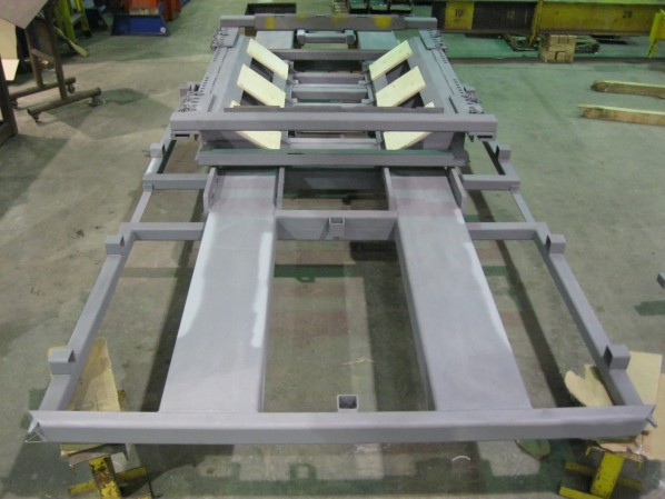 Shipping Cradle for Steel Coils