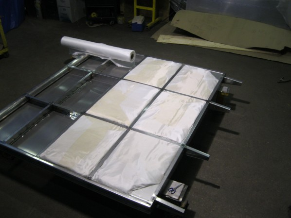 Insulating Stainless Steel Baffles